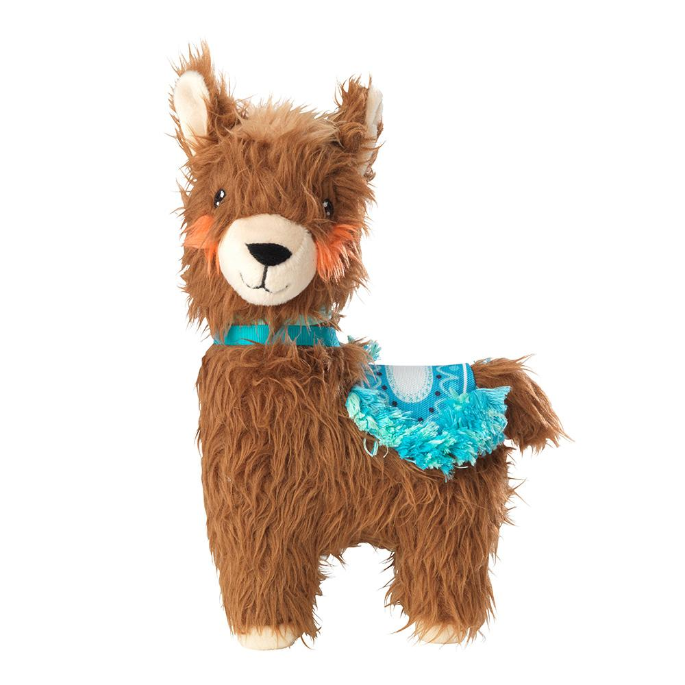 House of Paws Plush Llama Dog Toy