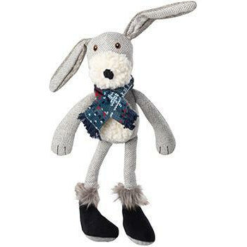 House of Paws Grey Woodland Hare Dog Toy