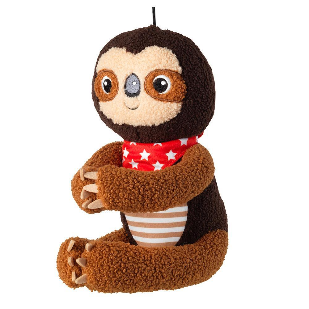 House of Paws Gift Wrapped Sloth Dog Toy