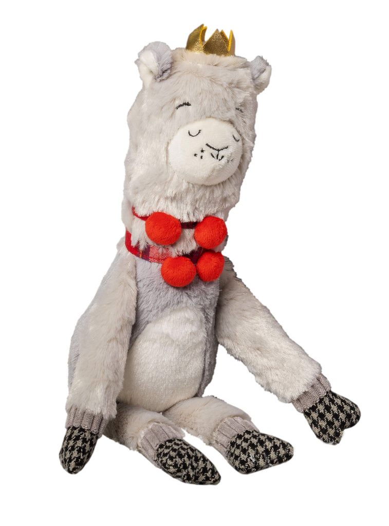 House of Paws Majestic Crown Plump Plush Llama