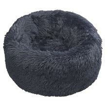 House of Paws Navy Faux Fur Donut - L/XL
