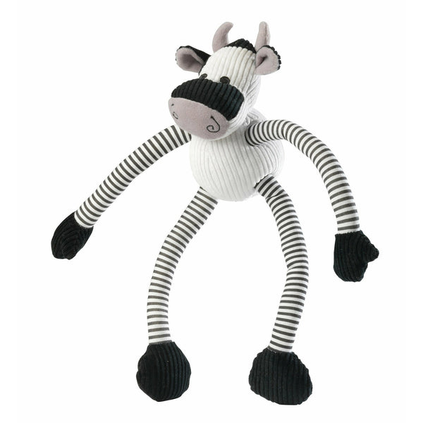 House of Paws Cow Long Legs Squeaky Dog Toy