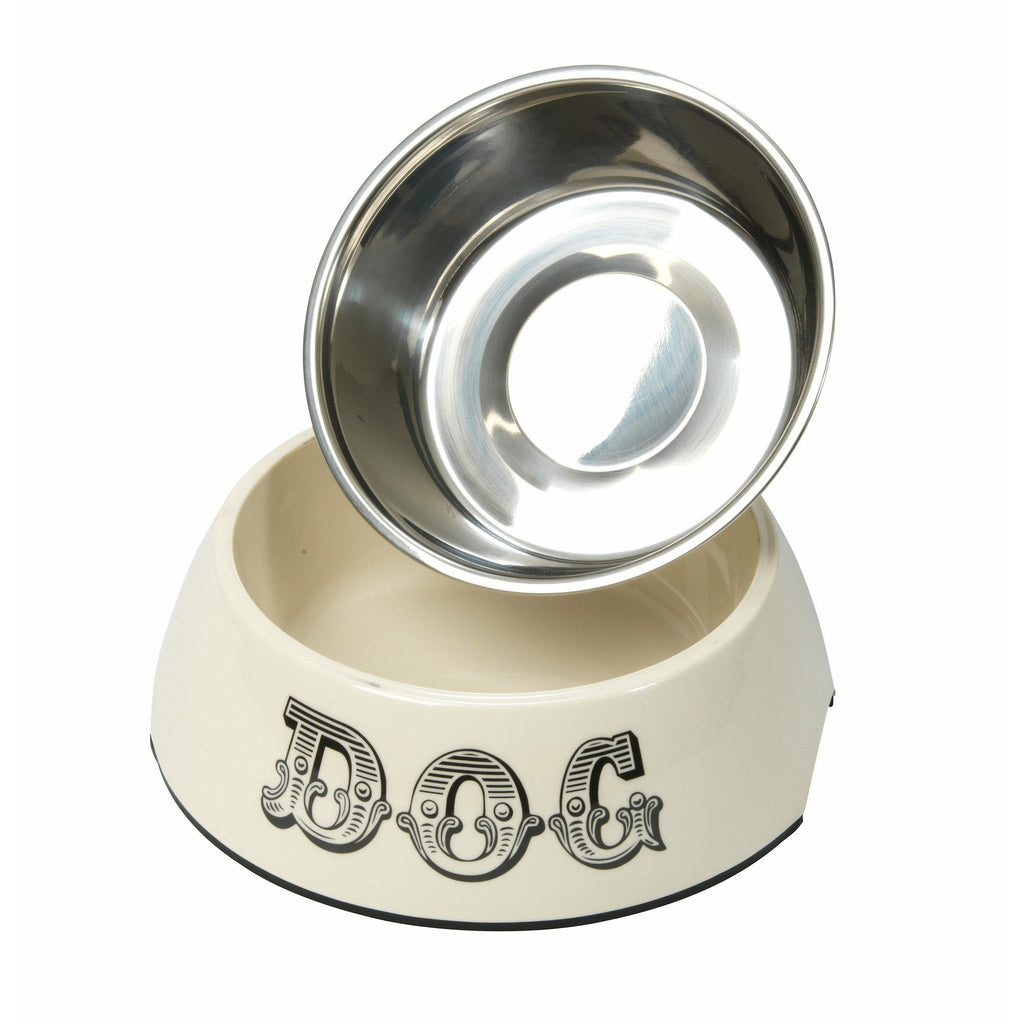 House of Paws Country Kitchen Dog Bowl in Cream - PurrfectlyYappy