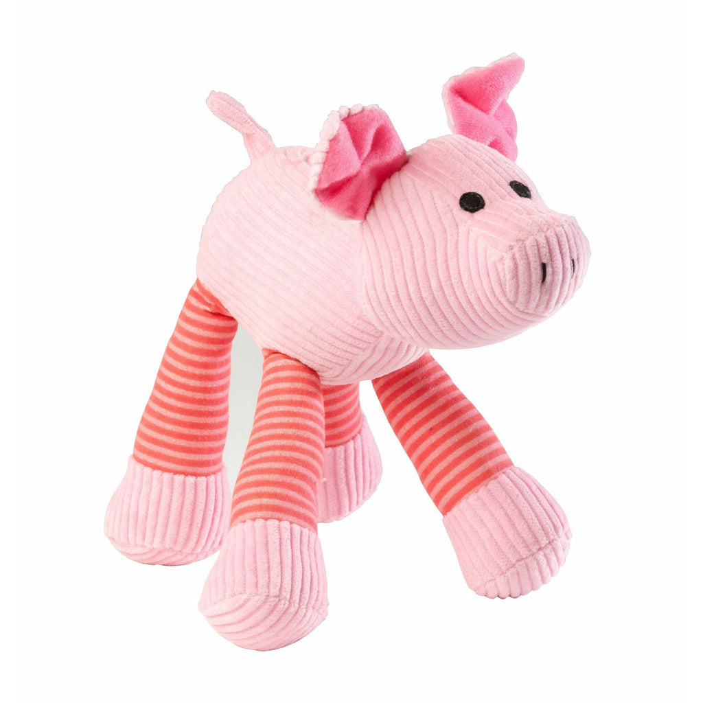 House Of Paws Pig Squeaker Cord Toy - PurrfectlyYappy