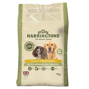 Harringtons Active Worker Turkey Dog Food 15kg