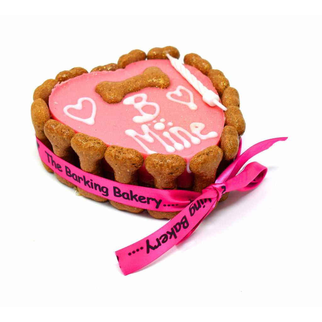 The Barking Bakery B Mine Heart Shaped Pawty Cake