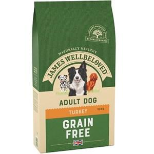 James Wellbeloved Grain Free Turkey & Vegetable Dog Food