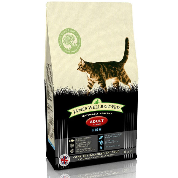 James Wellbeloved Cereal Free Adult Cat Food with Turkey