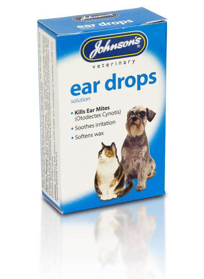 Johnson's Veterinary Pet Ear Drops Solution - 15ml