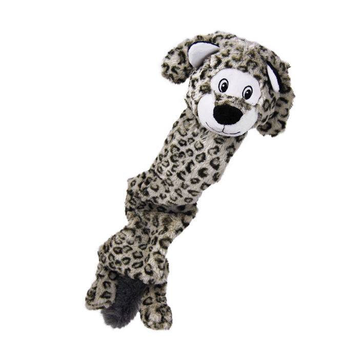 Kong Stretchezz Dog Toy in Snow Leopard - PurrfectlyYappy
