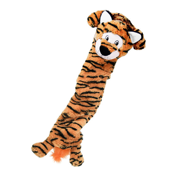 Kong Stretchezz Dog Toy in Tiger - PurrfectlyYappy