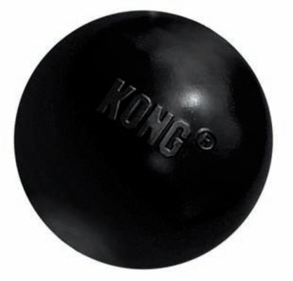 Kong Ball Extreme Dog Toy in Black