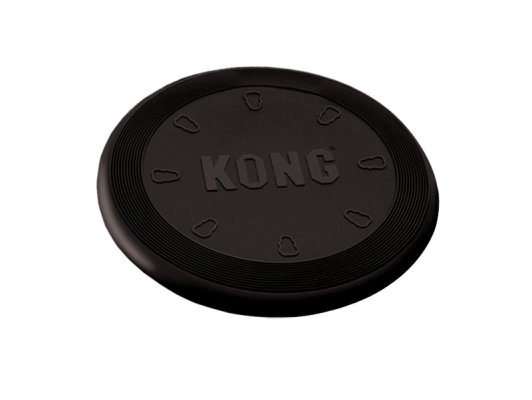 Kong Flyer Extreme Dog Toy in Black