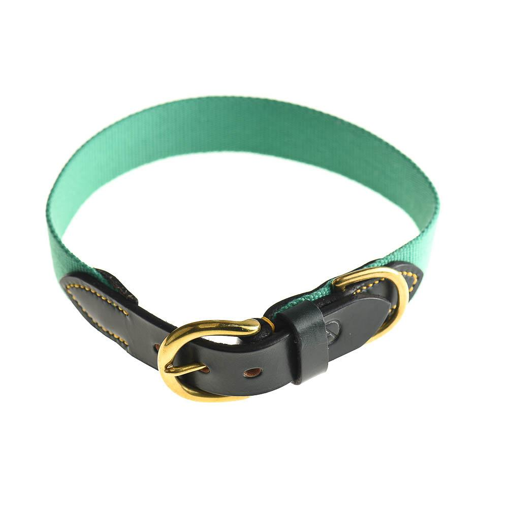 Doggie Apparel Leather Dog Collar - Lido