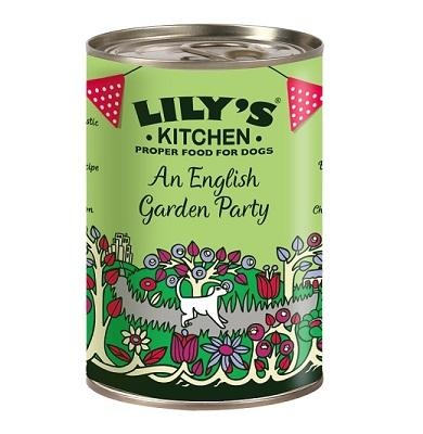 Lily's Kitchen An English Garden Party Tins 6 x 400g - PurrfectlyYappy