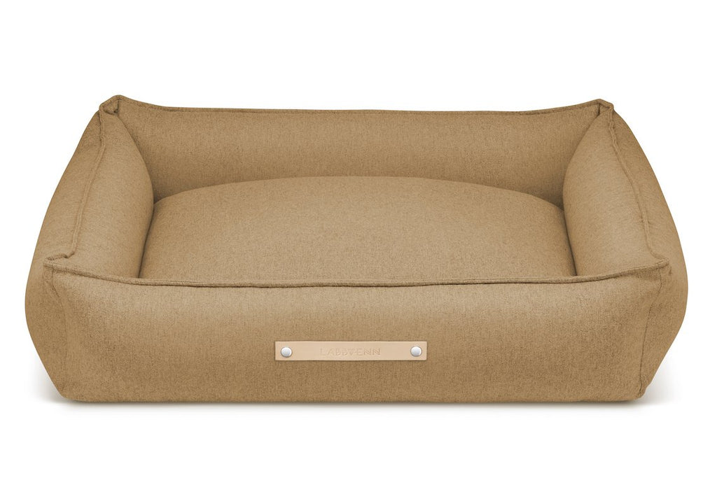 Labbvenn MOVIK Dog Bed in Biscuit