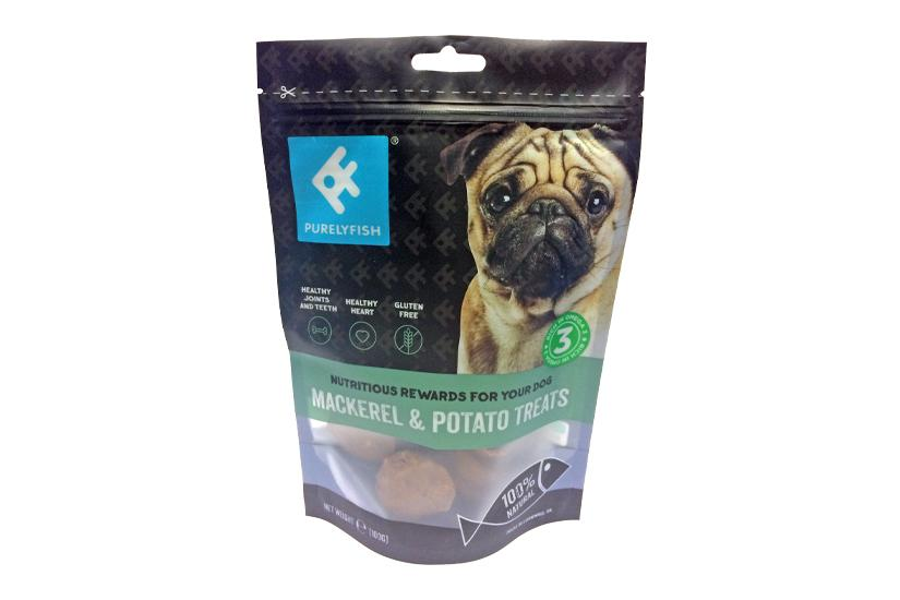 Purely Fish Mackerel and Potato Treats 100g Pouch - PurrfectlyYappy