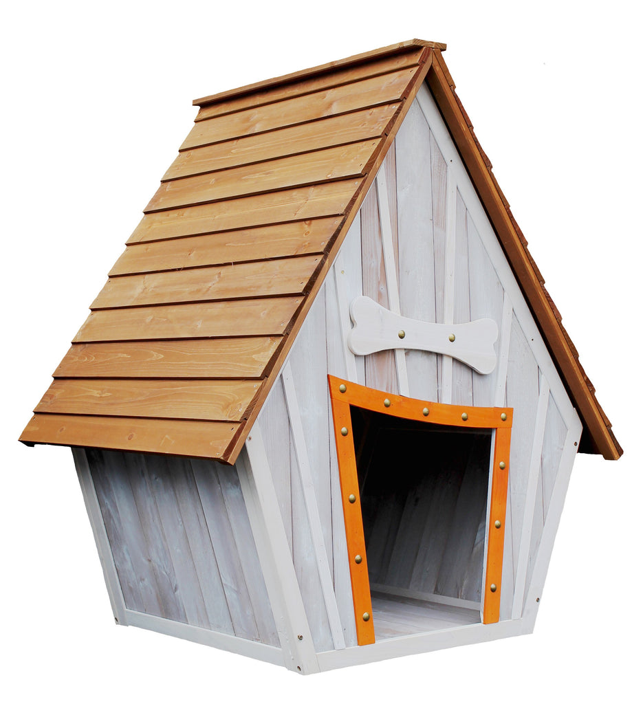 Waggy Tails Developments The Bark-Shire Dog House - PurrfectlyYappy