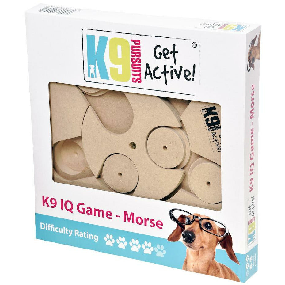 K9 Pursuits Interactive Dog Feeding Game - Morse
