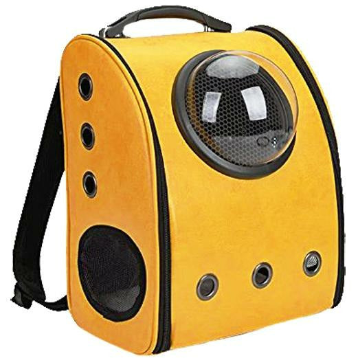 Petz-Aboard Space Portal Back Pack Yellow