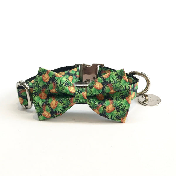 Percy & Co. Dog Collar Bow Tie in The Alderley