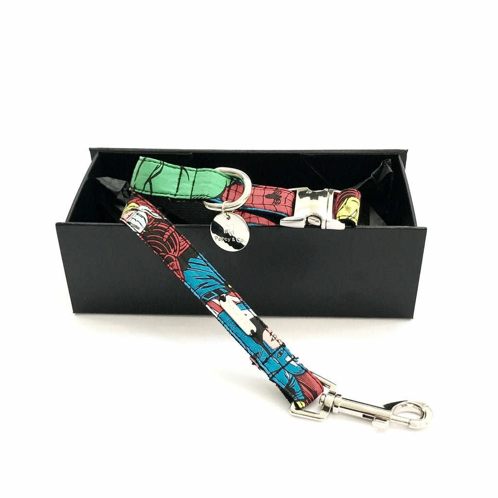 Percy & Co. Dog Collar & Lead Set in The Jesmond - PurrfectlyYappy