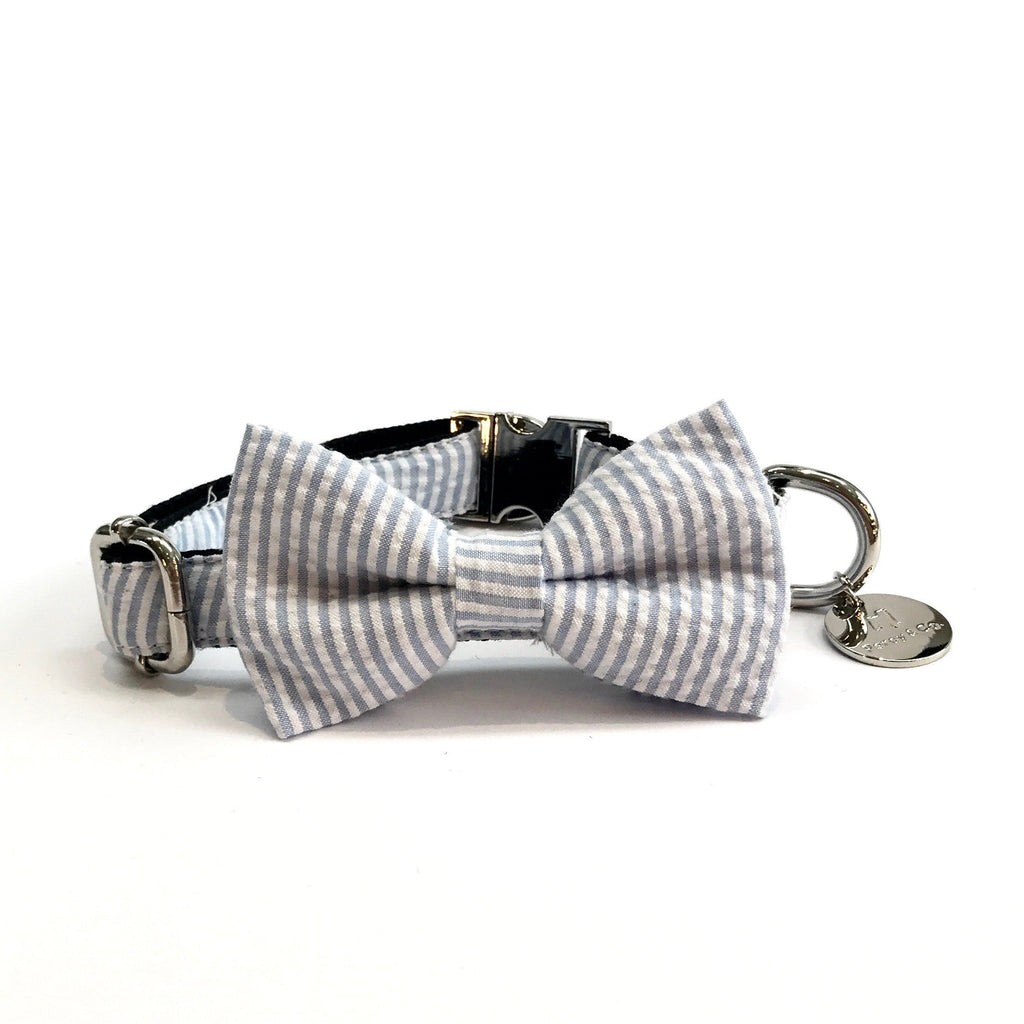 Percy & Co. Dog Collar Bow Tie in The Putney - PurrfectlyYappy