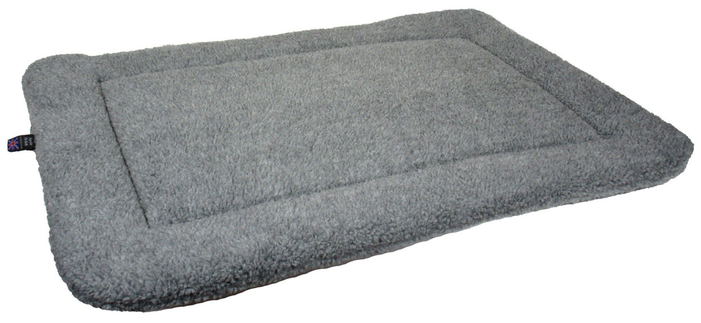P&L Rectangular Fleece Cushion Pad in Grey - PurrfectlyYappy
