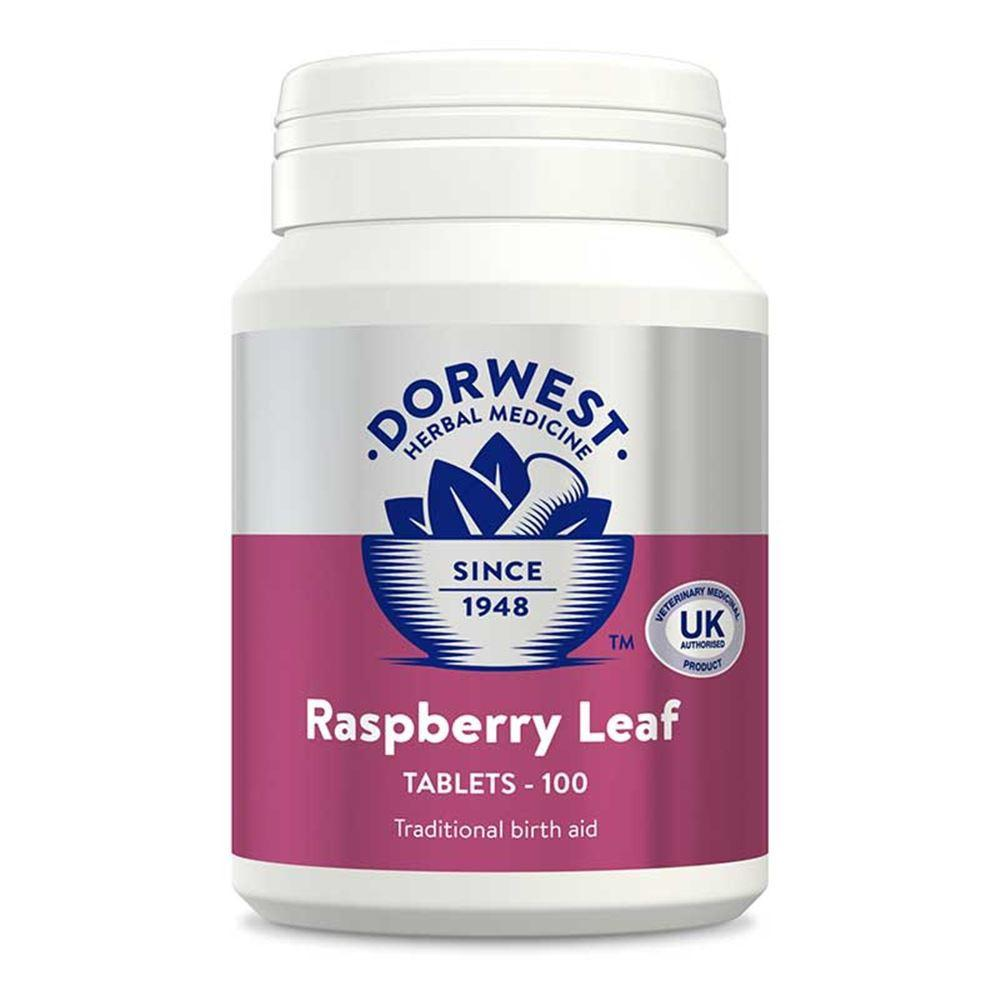 Dorwest Raspberry Leaf Tablets for Dogs and Cats - PurrfectlyYappy