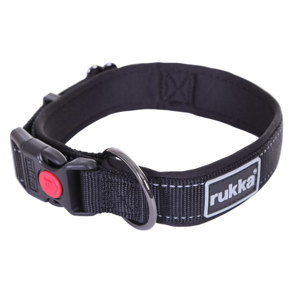 Rukka Solid Padded Dog Collar