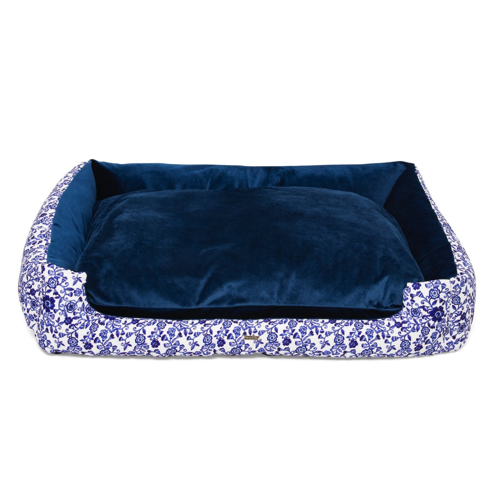 Percy & Co Nest Dog Bed in The Richmond - PurrfectlyYappy