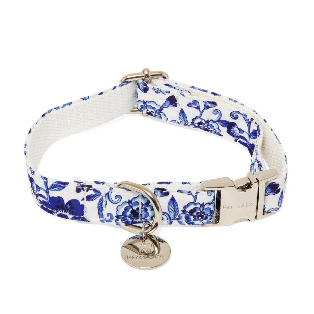 Percy & Co. Dog Collar & Lead Set in The Richmond - PurrfectlyYappy