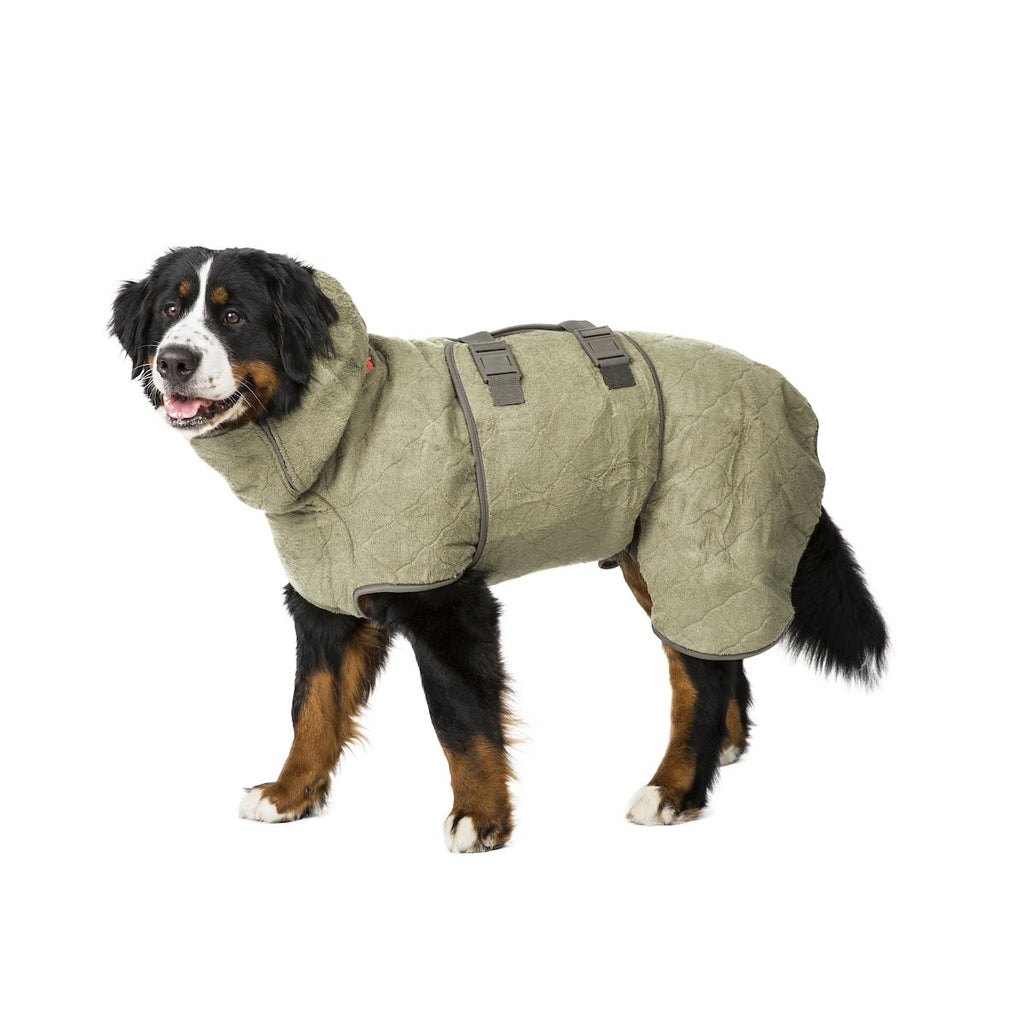 Siccaro SupremePro Dog Drying Coat - Elmwood
