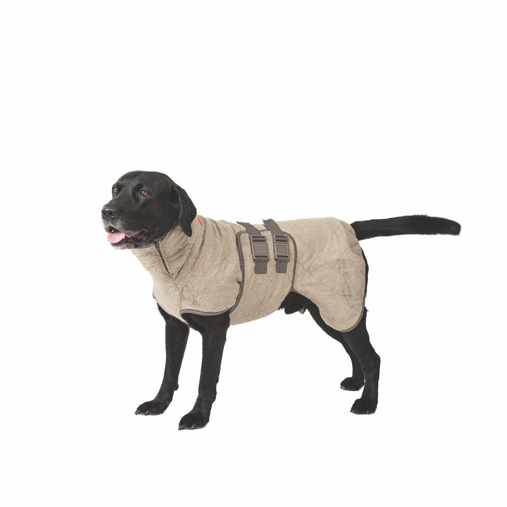 Siccaro SupremePro Dog Drying Coat - Sand