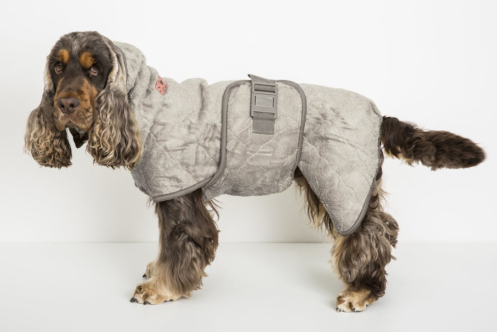 Siccaro SupremePro Dog Drying Coat - Sand - PurrfectlyYappy