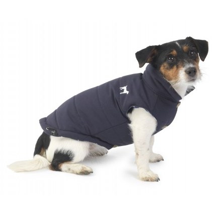 House Of Paws Fleece Lined Gilet in Blue - PurrfectlyYappy