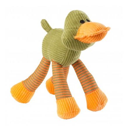 House Of Paws Duck Squeaker Cord Toy - PurrfectlyYappy