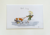 Hunt & Wilson Living with Dogs Prints Single A4 Mounted