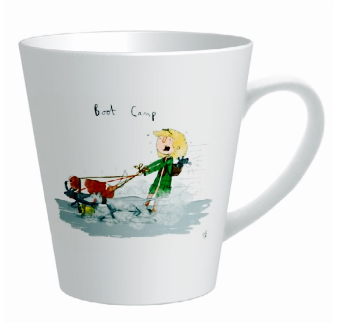Hunt & Wilson Living with Dogs Mug - PurrfectlyYappy