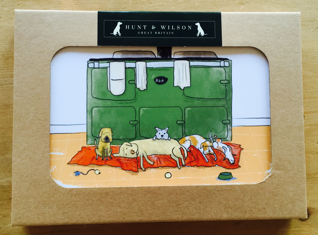 Hunt & Wilson Living with Dogs Placemats set of 4 - PurrfectlyYappy