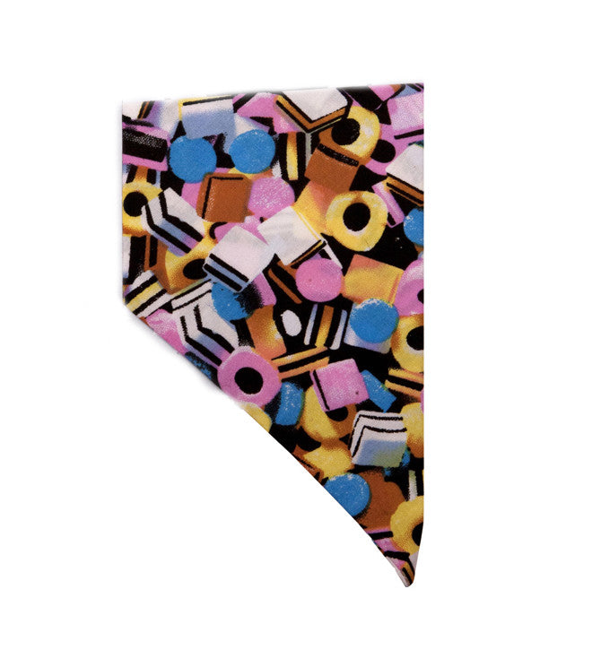 Creature Clothes Allsorts Sweeties Slip-on Dog Bandana - PurrfectlyYappy