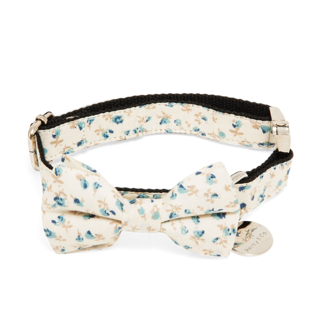 Percy & Co. Dog Collar Bow Tie in The Stamford - PurrfectlyYappy