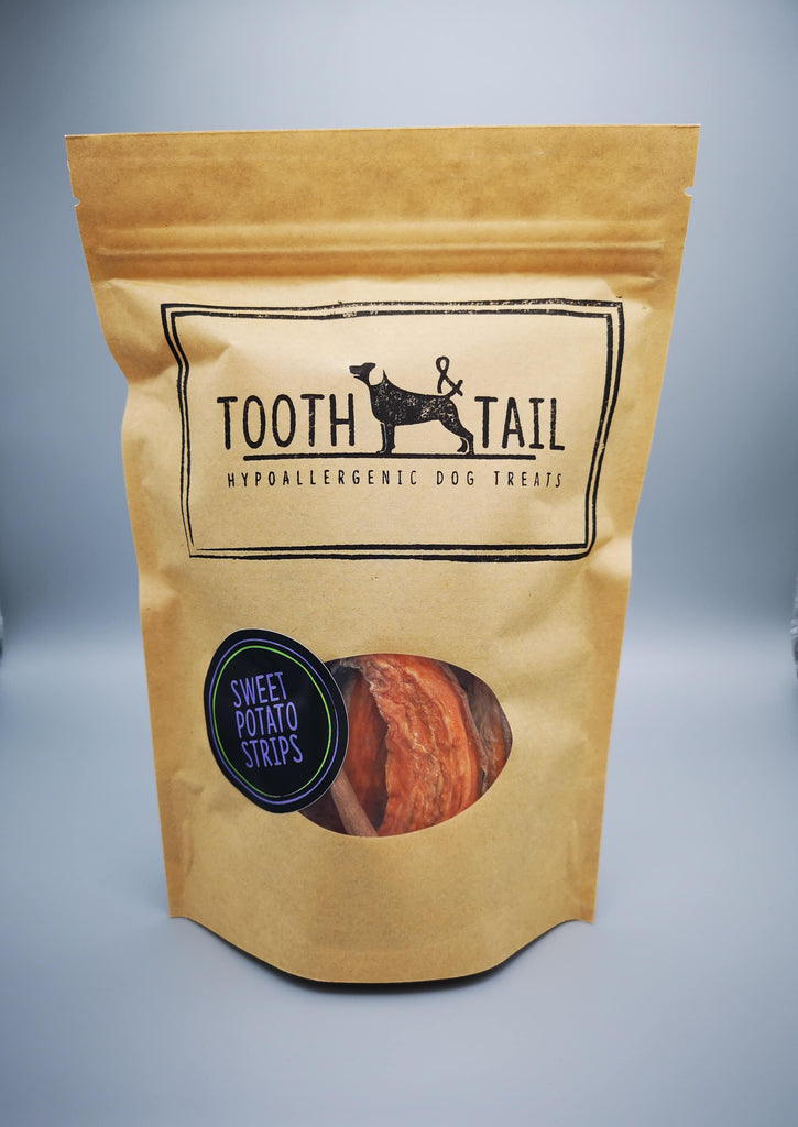Tooth & TailSweet Potato Strips Dog Treats