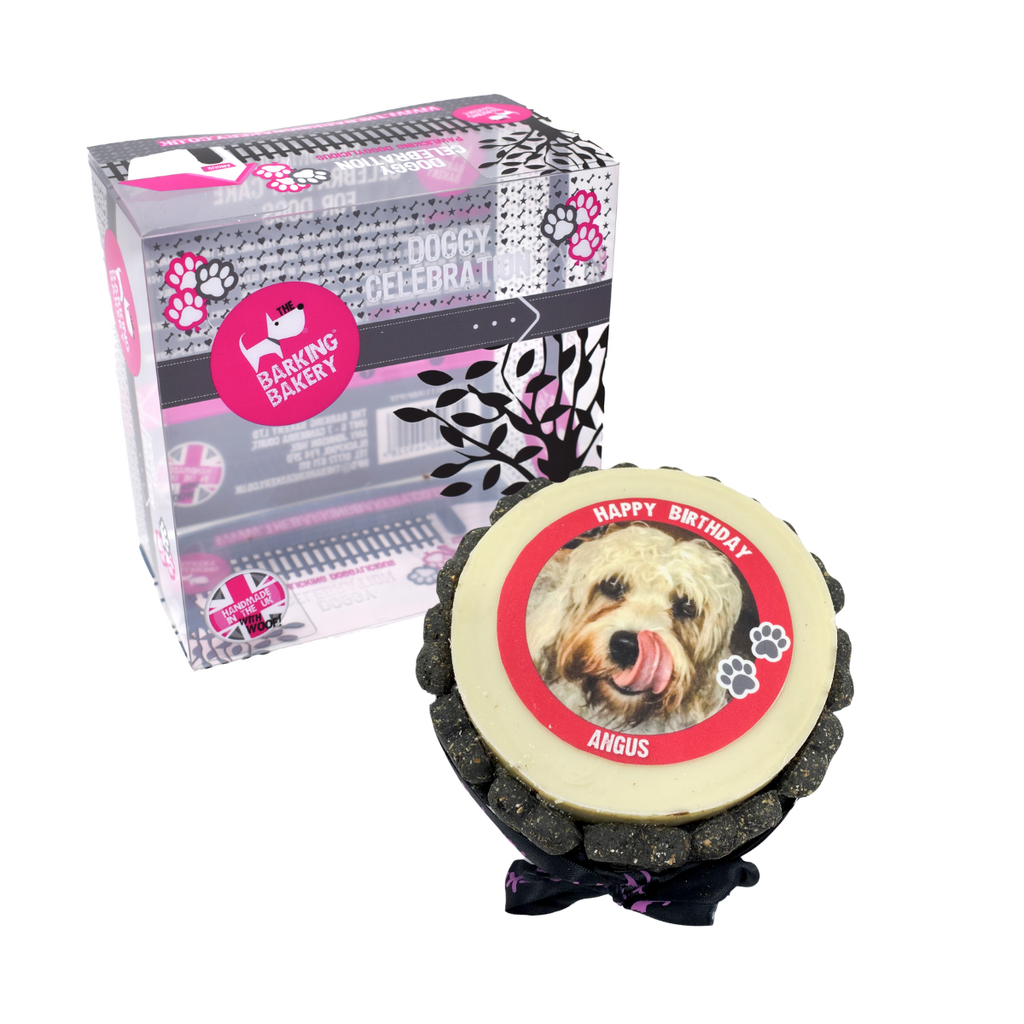 The Barking Bakery Personalised Pet Picture Dog Birthday Cake