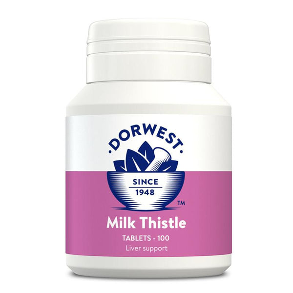 Dorwest Milk Thistle Tablets for Dogs and Cats