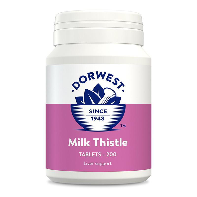 Dorwest Milk Thistle Tablets for Dogs and Cats - PurrfectlyYappy