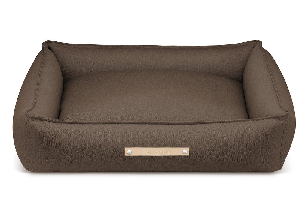 Labbvenn TOVE Dog Bed in Brown