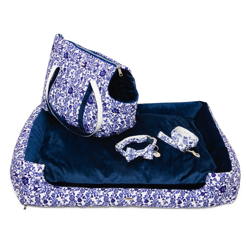 Percy & Co. Bed, Carrier, Bow Tie Collar & Lead Set in Richmond - PurrfectlyYappy