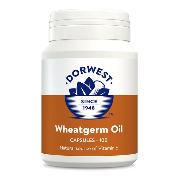 Dorwest Wheatgerm Oil Capsules for Dogs and Cats