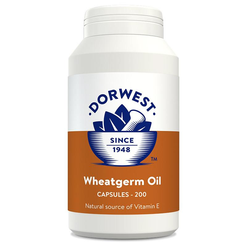 Dorwest Wheatgerm Oil Capsules for Dogs and Cats - PurrfectlyYappy